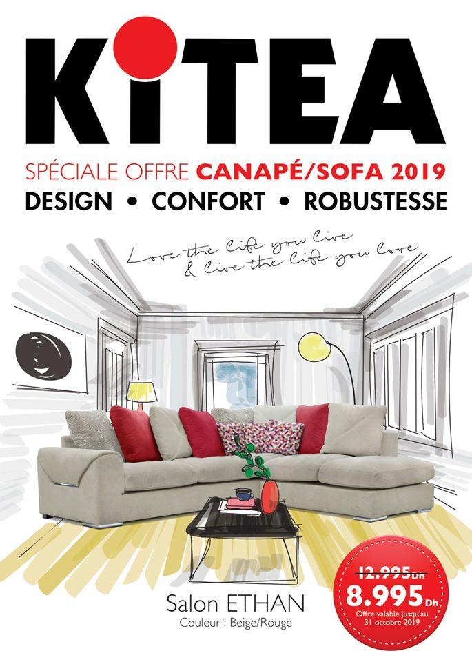 Kitea maroc catalogue canap sofa 2019 promotion au maroc for Mobilia kenitra